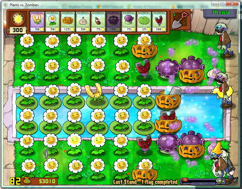 plants vs zombies. plant vs zombie 2