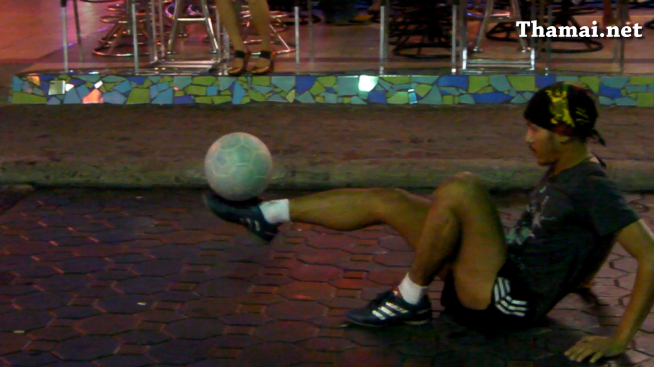 Shaolin Soccer appear in Pattaya Walking Street