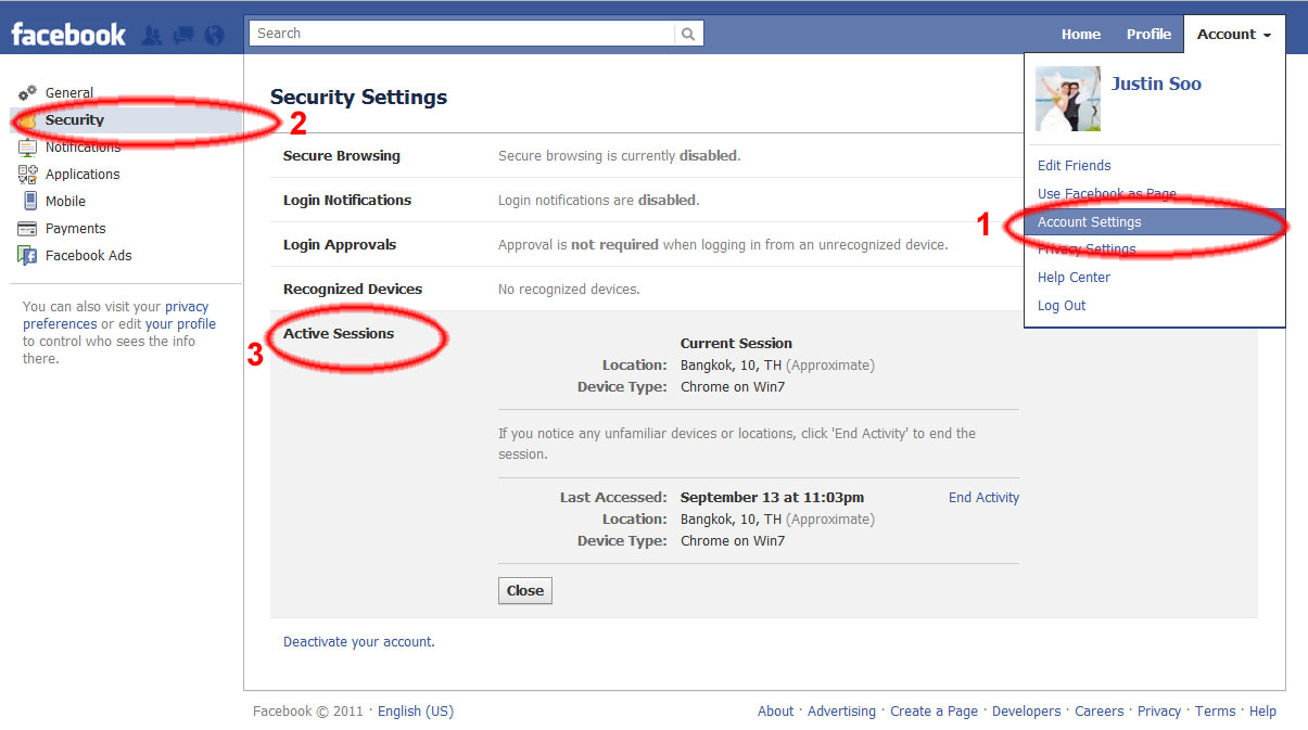 How to know that my facebook account is hacked justin the ccuart Image collections