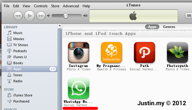 how to find installed apps on ipad