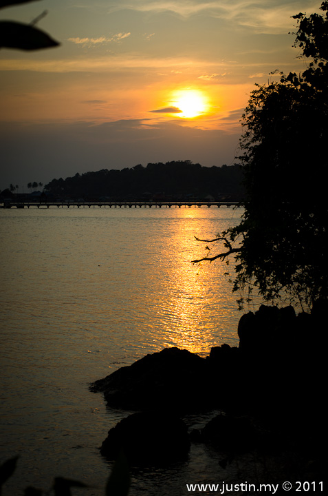 Sunset in Koh Chang