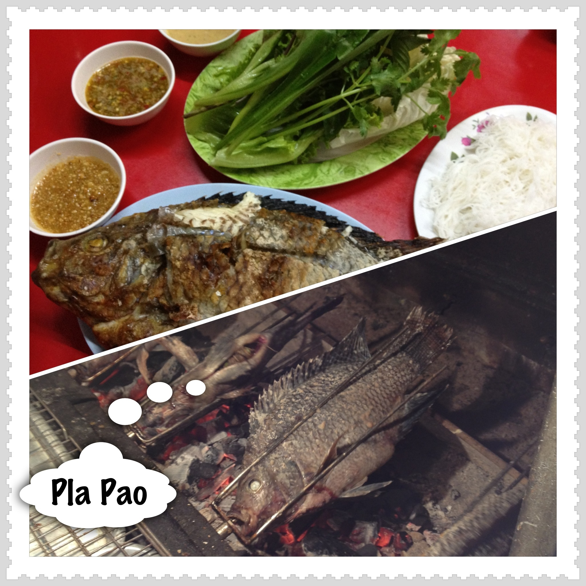 Pla Pao in Thailand