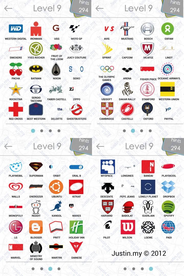 logos quiz answers � page 9 � justinmy
