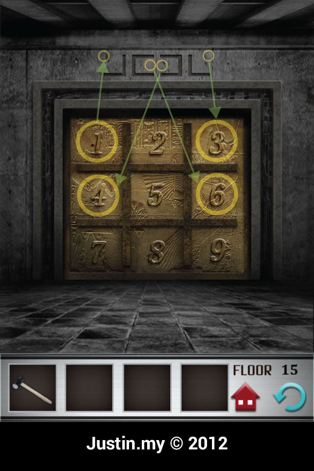 100 Floors Walkthrough Page 15 Justin My