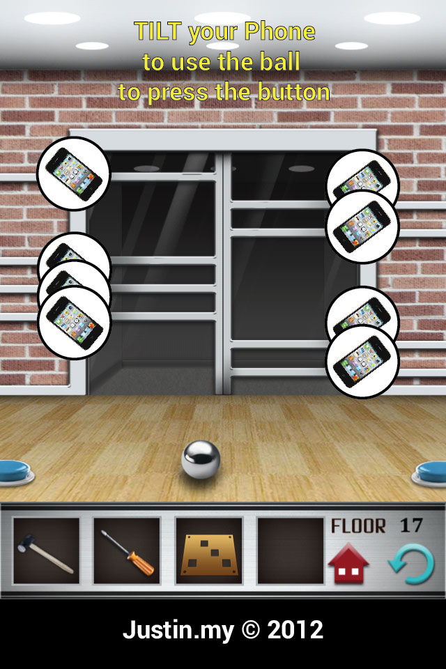 100 Floors Walkthrough Page 17 Justin My