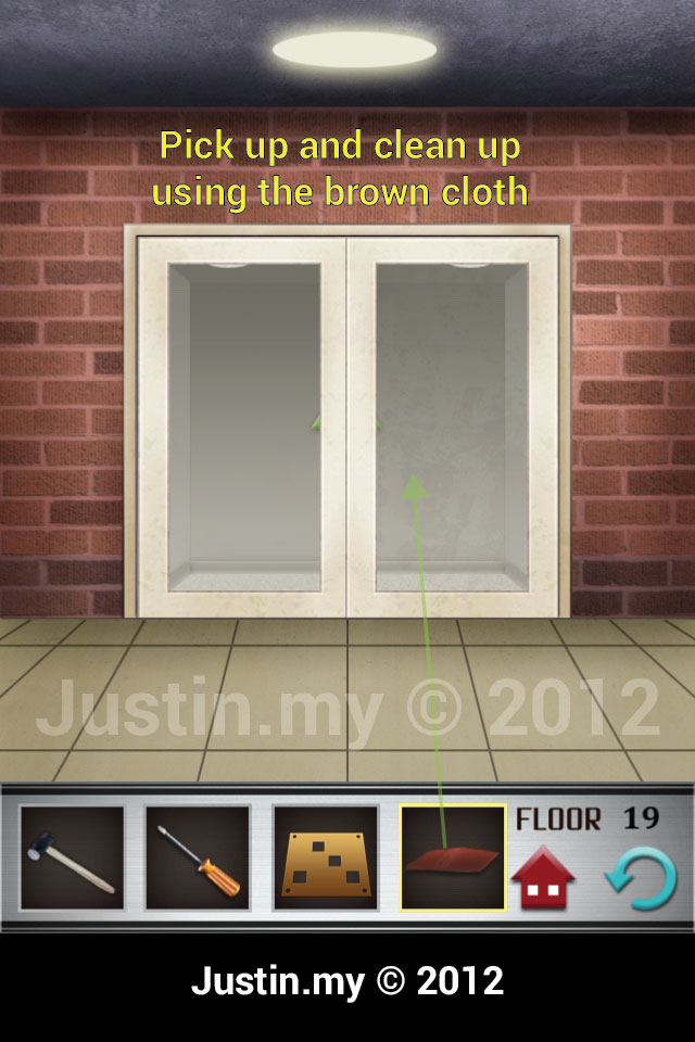 100 Floors Walkthrough Page 19 Justin My