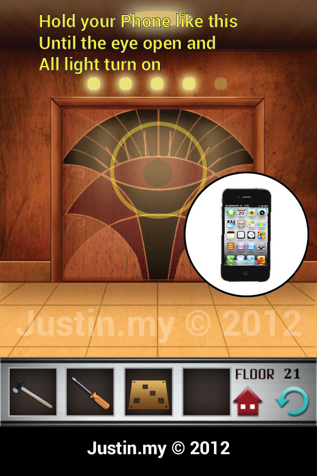 100 Floors Walkthrough Page 21 Justin My