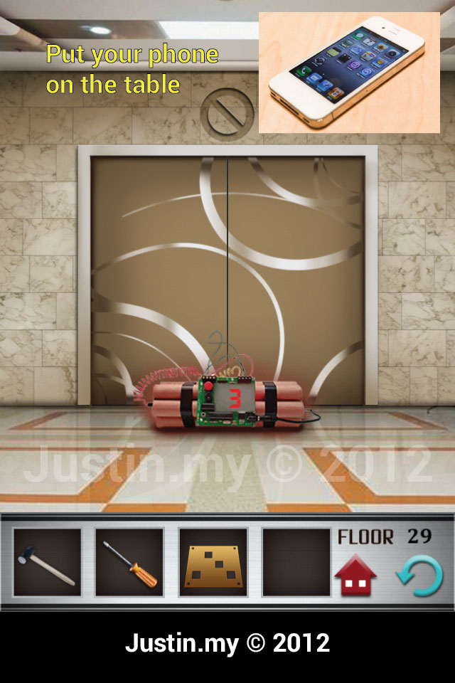 100 Floors Walkthrough Page 29 Justin My