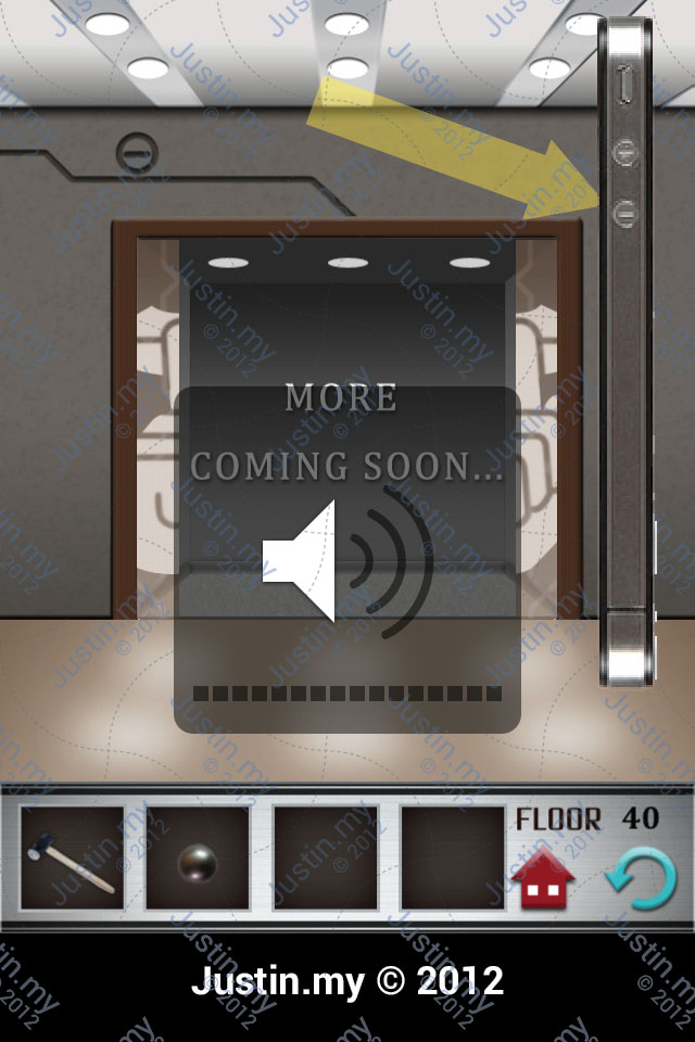 100 Floors Walkthrough Page 40 Justin My