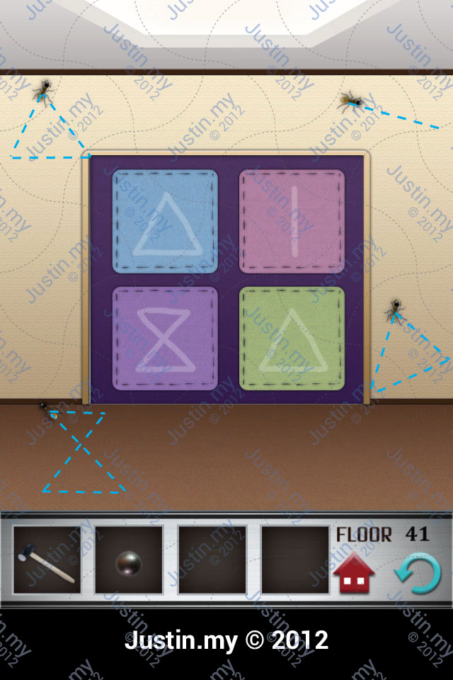 100 Floors Walkthrough Page 41 Justin My