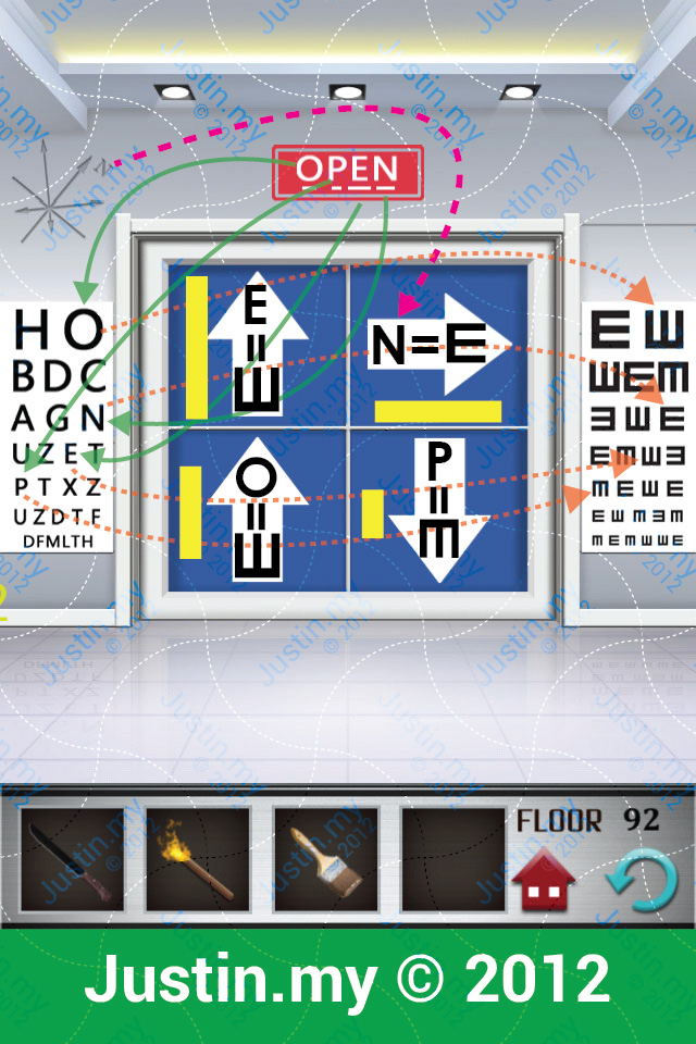 100 Floors Level 87 Cheat Home Plan