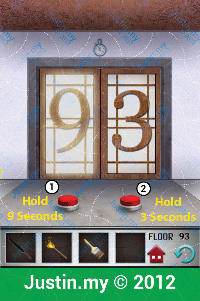 100 Floors Walkthrough Page 93 Justin My