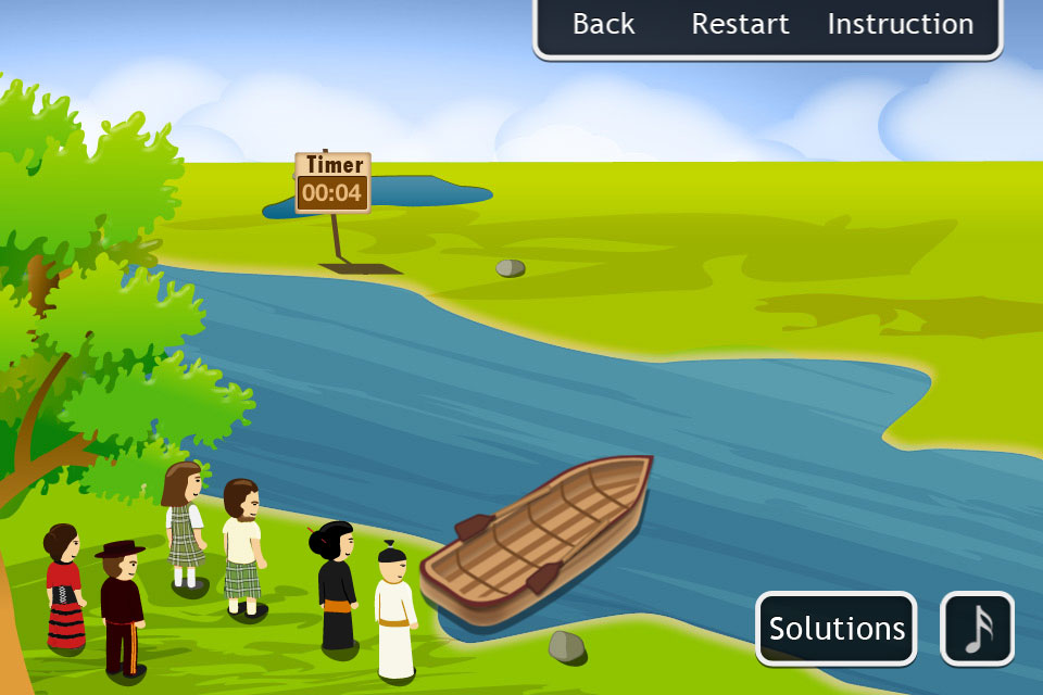 River Test Solution Jealous Husbands Justinmy - River game