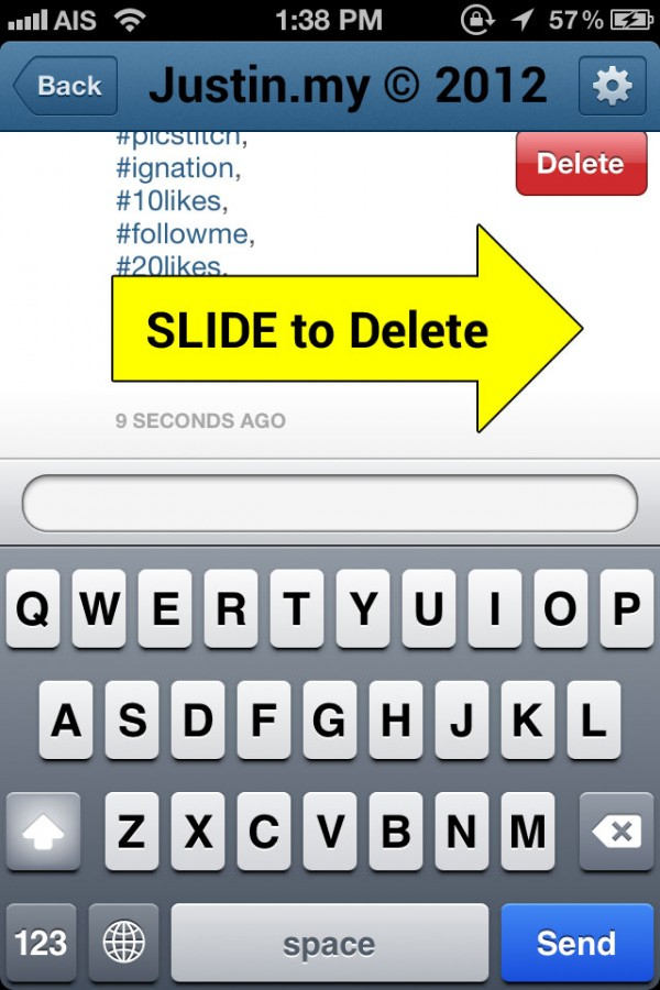 project dictionary add edit delete