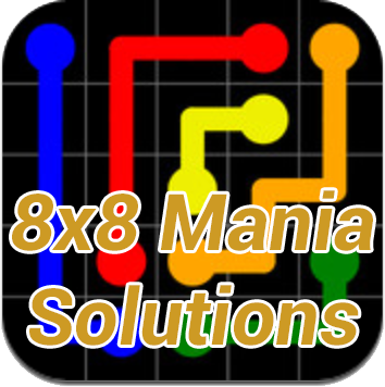 Flow Mania 8×8 Solutions