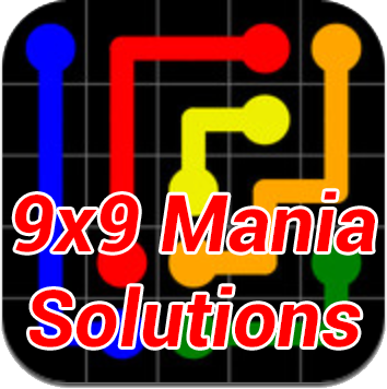 Flow Mania 9×9 Answers