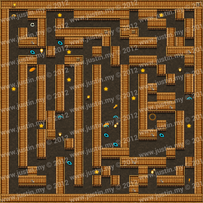 Reveal the Maze Level 3-8