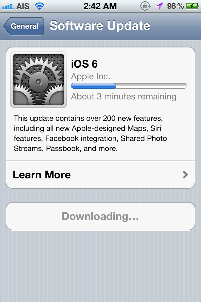 What did iOS 6 do