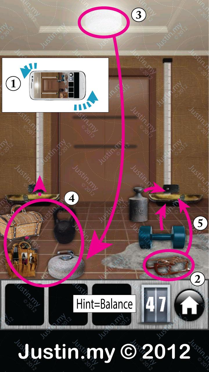 Escape 100 Floors Level 24 Home Plan