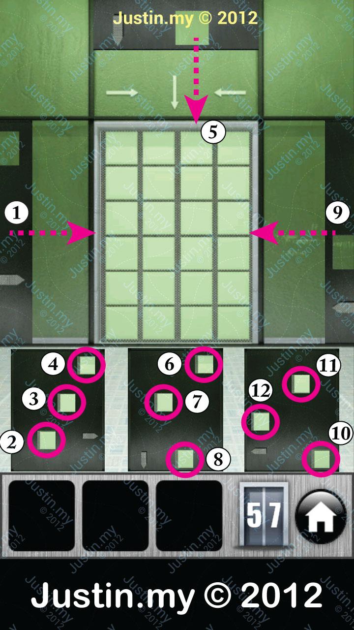 100 Floors Level 11 Solution
