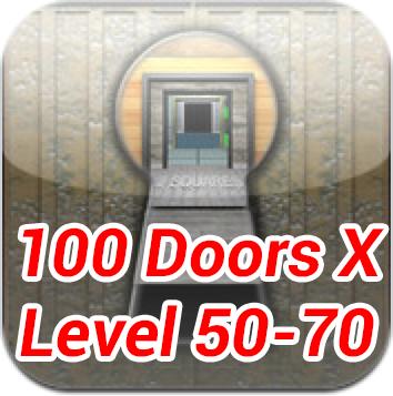100 doors x level 50 70 walkthrough update for 100 door x