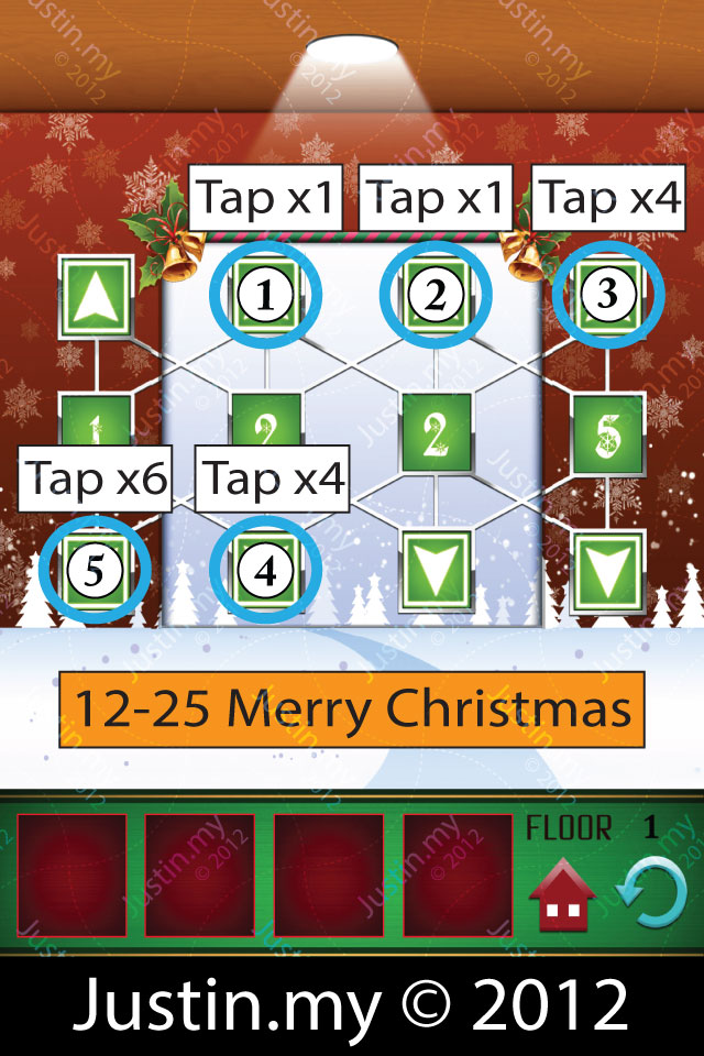 100 Floors Christmas Level 1