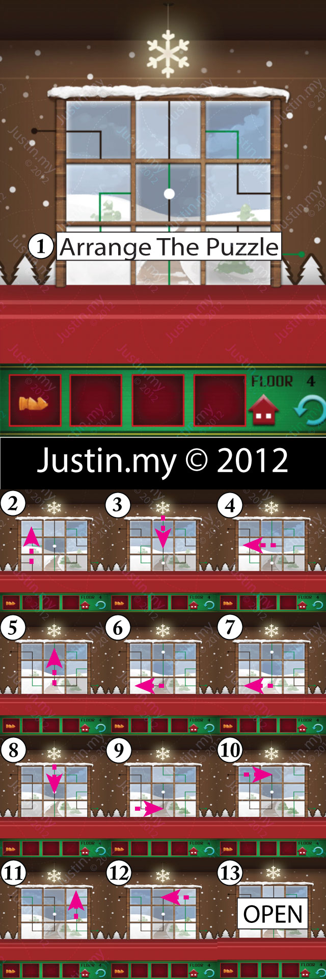 100 Floors Christmas Walkthrough For Iphone Ipad Android