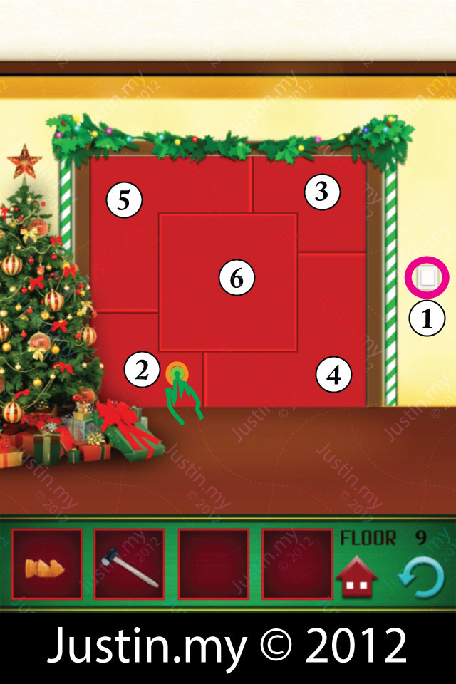 100 floors christmas walkthrough for iphone ipad android for 12th floor on 100 floors