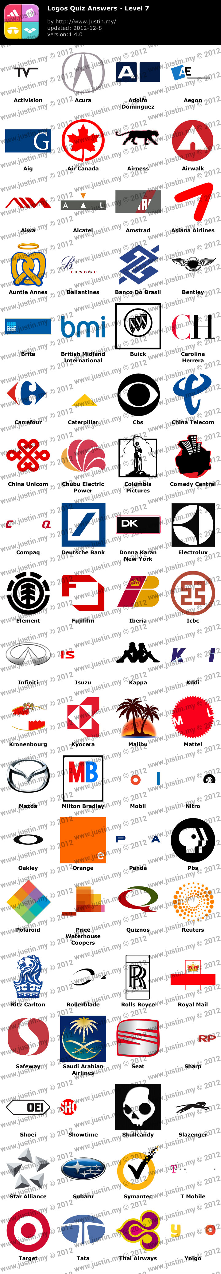 logo quiz answers for iphone ipad android � page 7