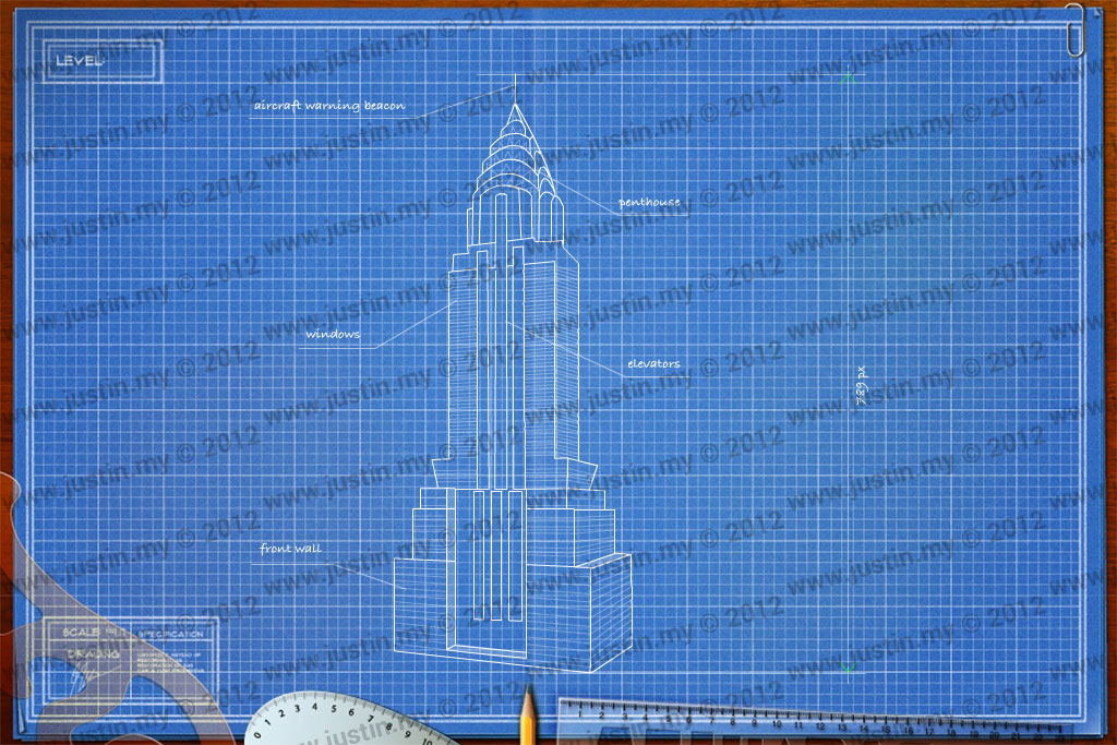 Skyscraper blueprints images for Architecture blueprints
