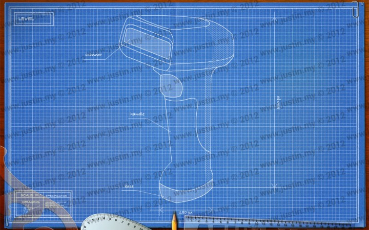 BluePrint 3D Electronic Level 11