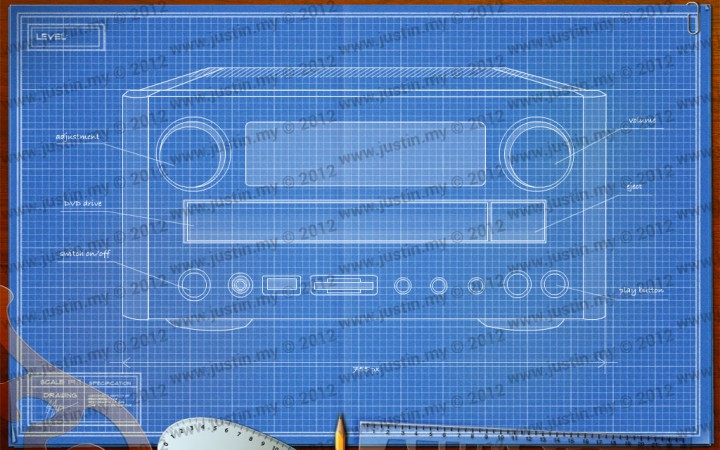 BluePrint 3D Electronic Level 35