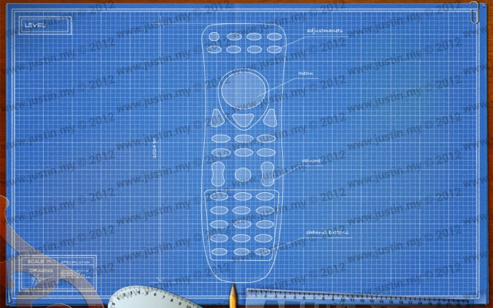 BluePrint 3D Electronic Level 7