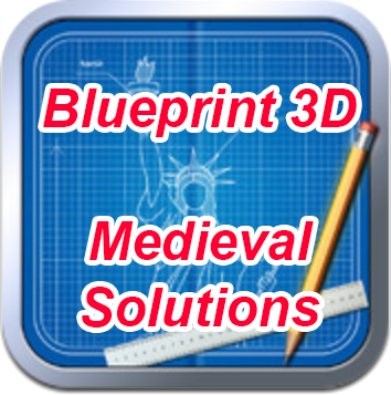 Blueprint 3D Medieval Solutions