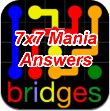 Flow Bridges 7×7 Mania Answers