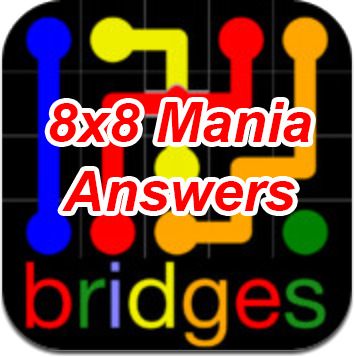 Flow Bridges 8×8 Mania Answers