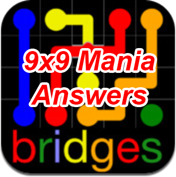 Flow Bridges 9×9 Mania Answers