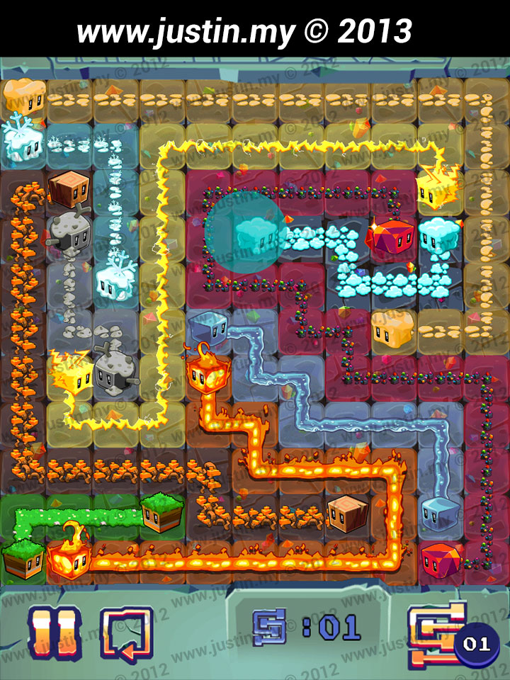 Lost Cubes 11x11 Level 15