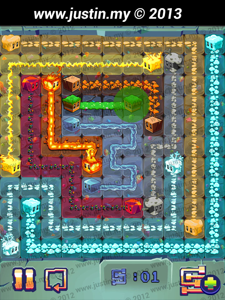 Lost Cubes 11x11 Level 34