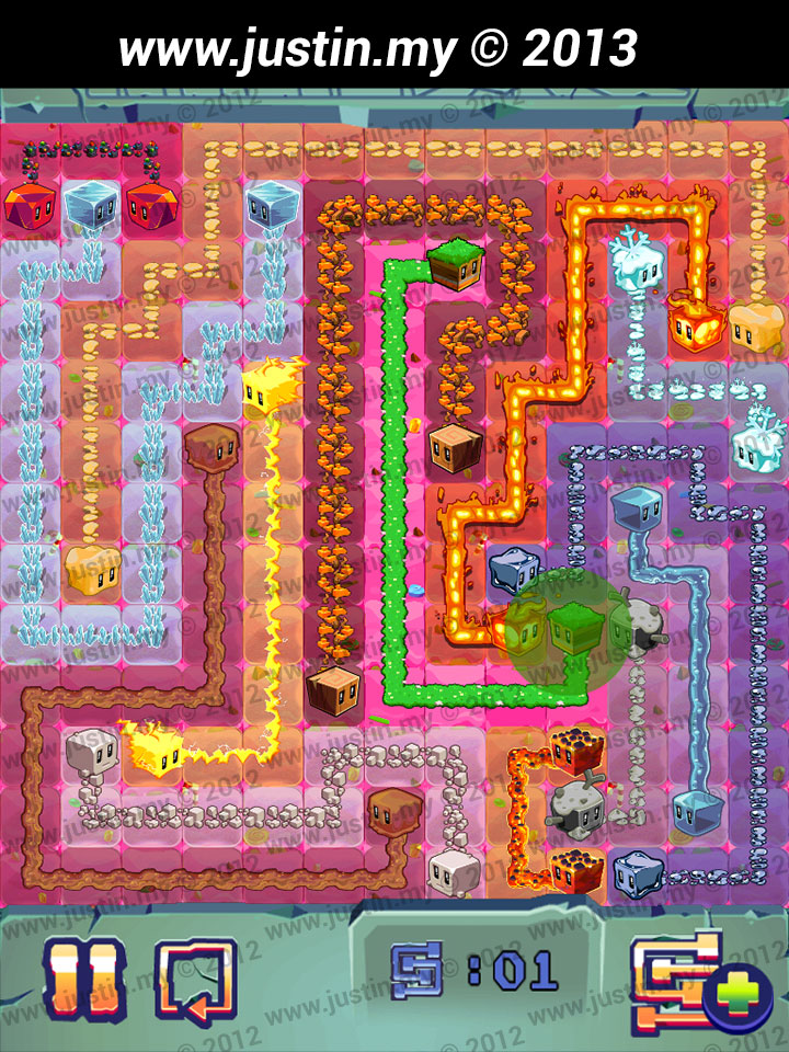 Lost Cubes 13x13 Level 16