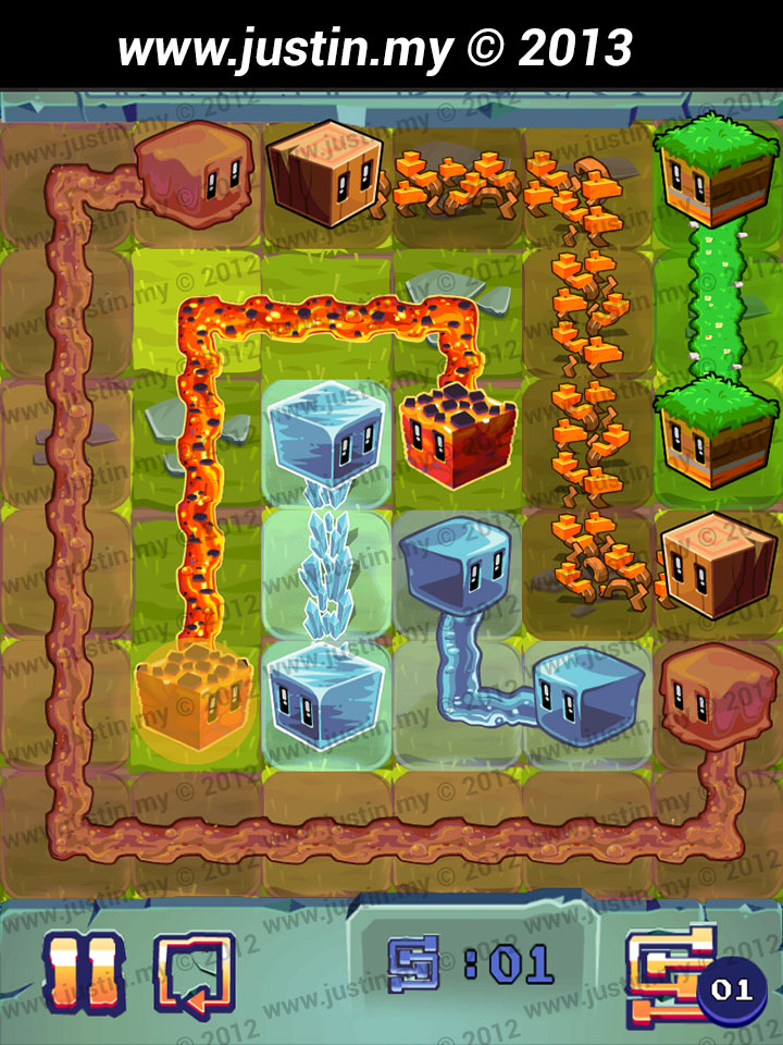 Lost Cubes 6x6 Level 3
