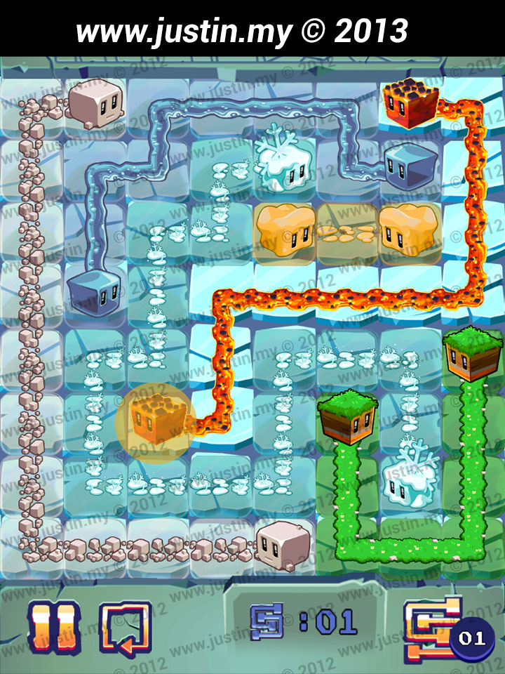 Lost Cubes 8x8 Level 12