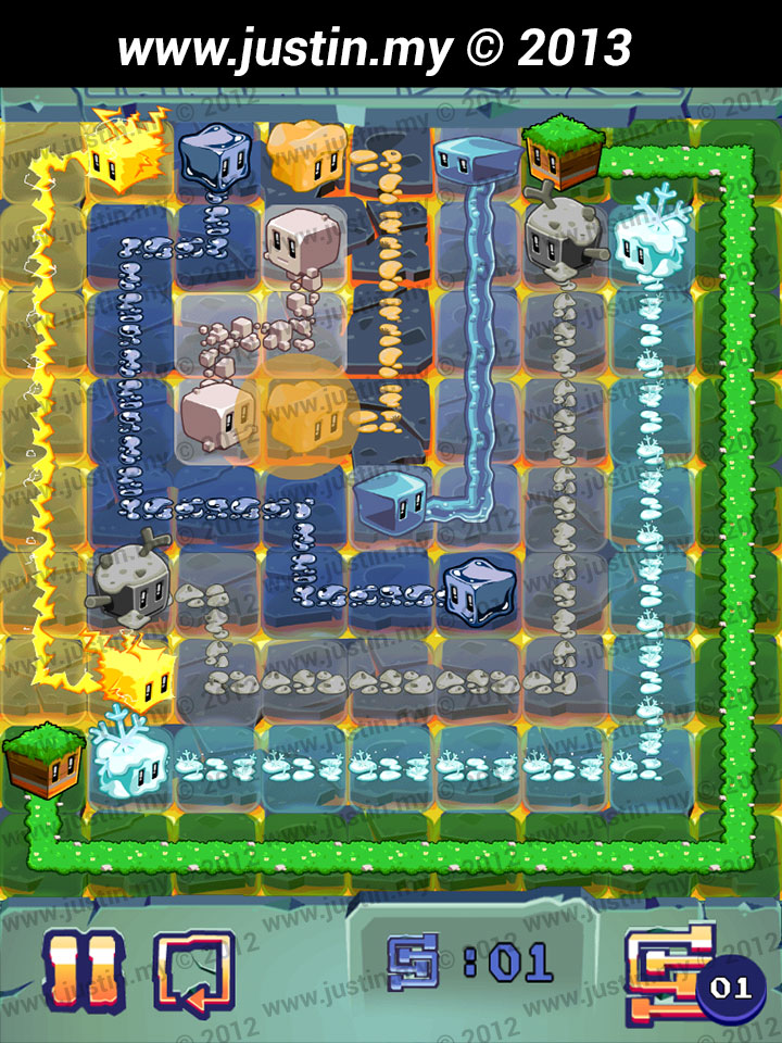 Lost Cubes 9x9 Level 32