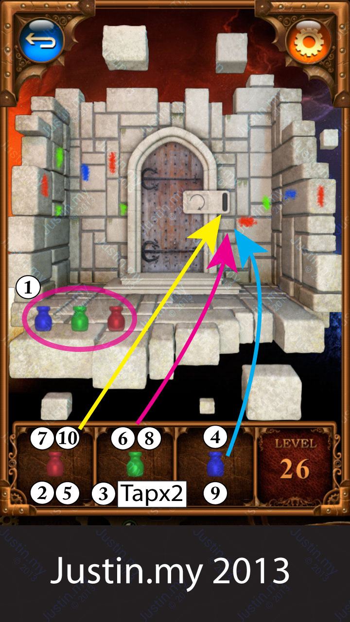 100 Doors Parallel Stage 2 Level 26