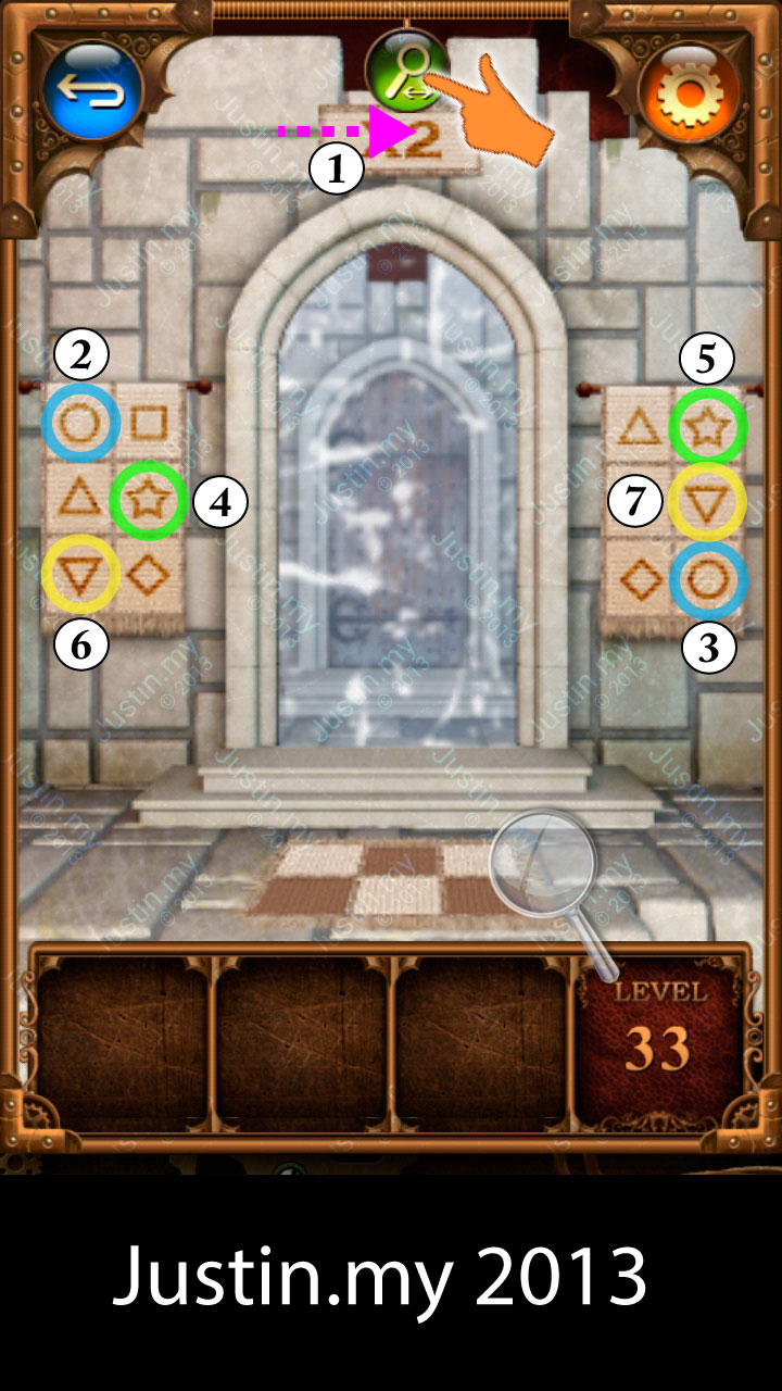 100 Doors Parallel Stage 2 Level 33
