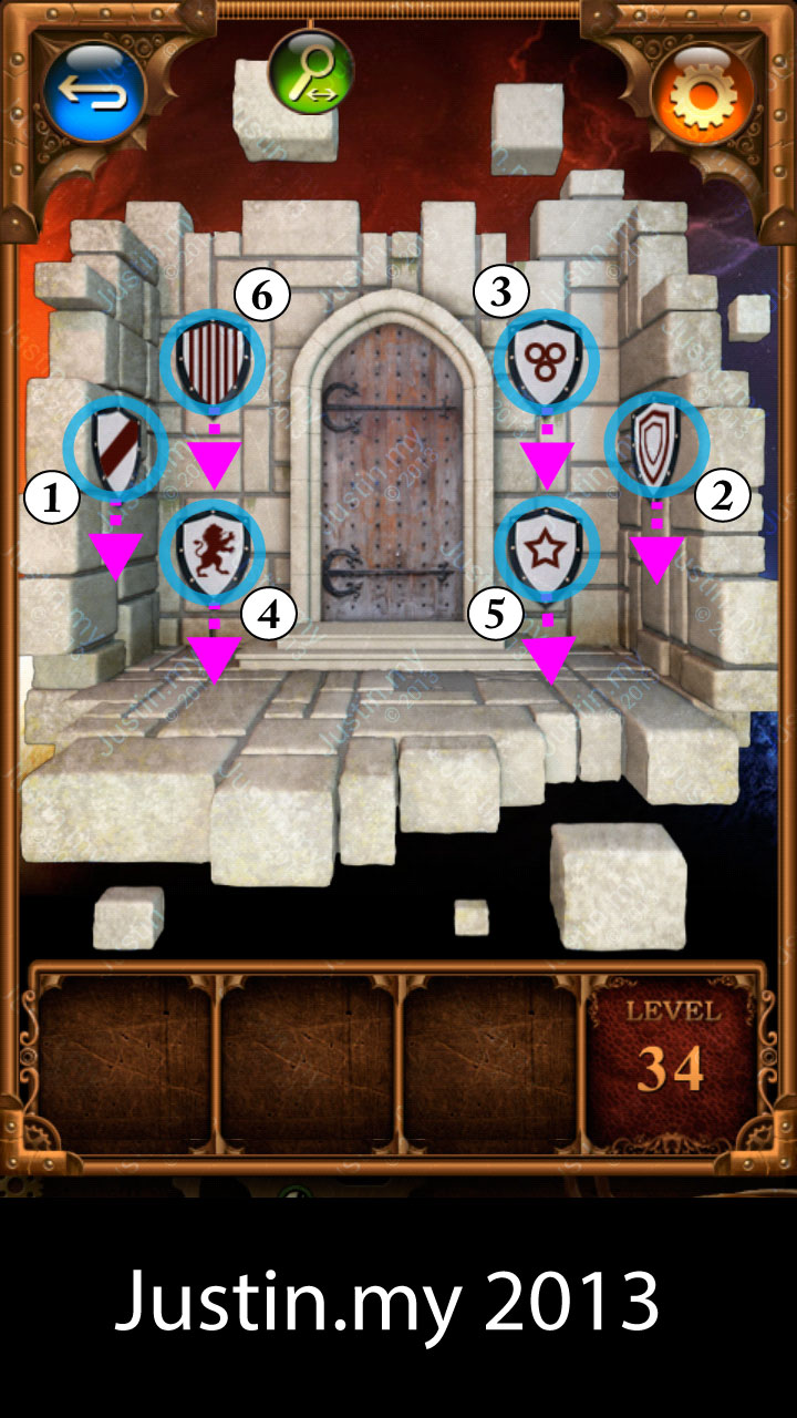 100 Doors Parallel Stage 2 Level 34