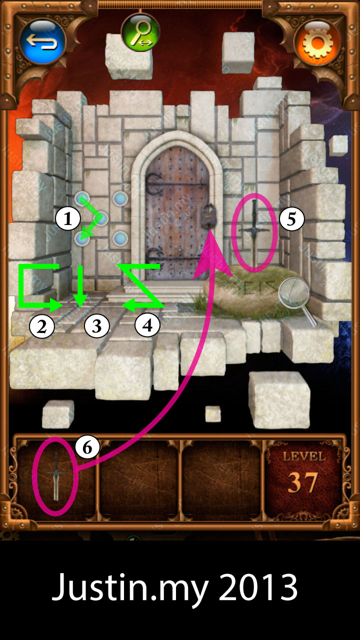 100 Doors Parallel Stage 2 Level 37